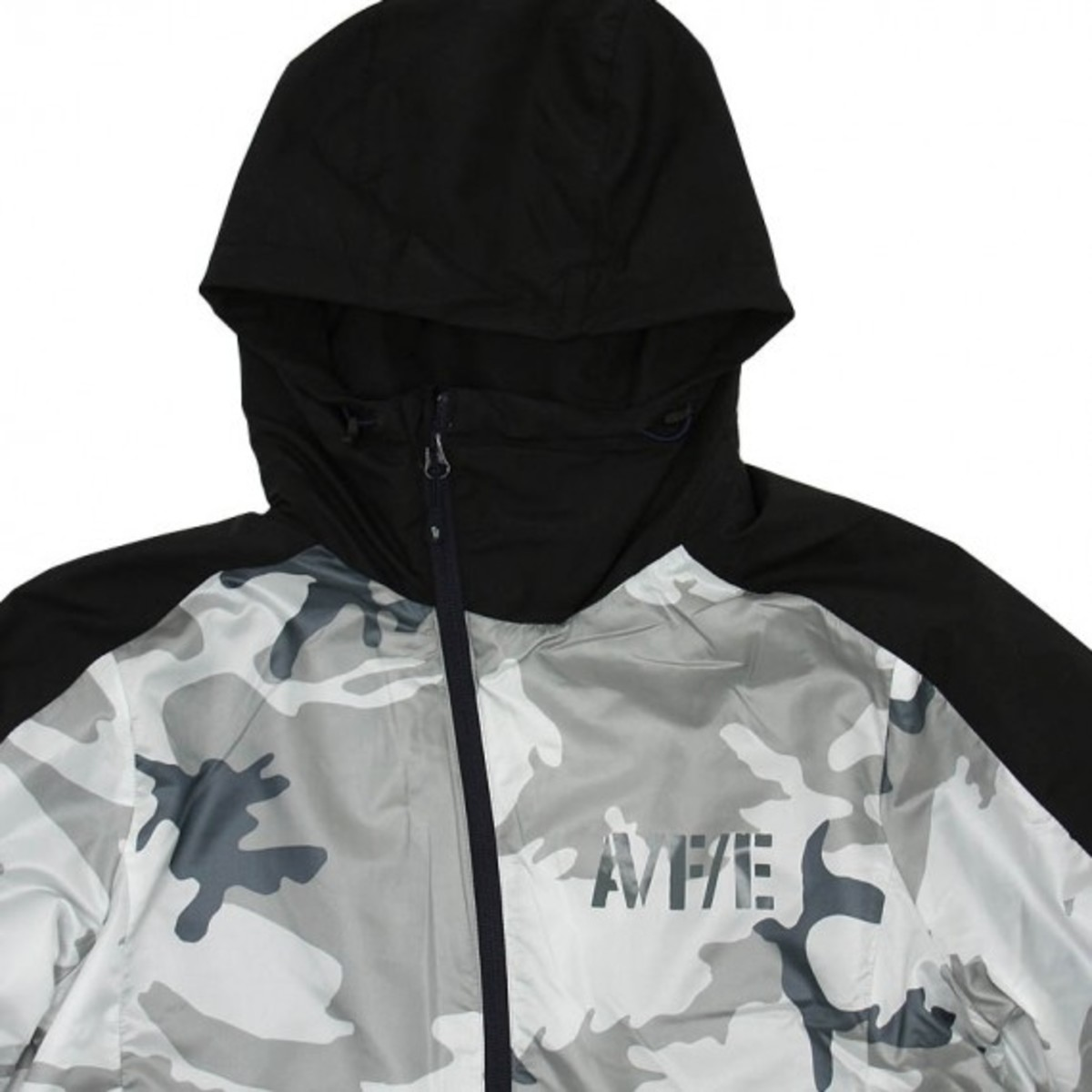 NSW AFE Slant Zip Jacket White 3