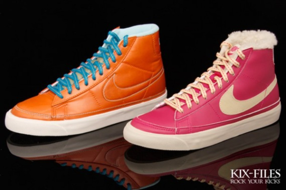Nike WMNS Blazer Mid - Cotton Candy & Toffee - 0