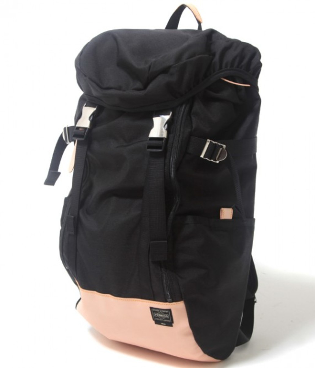 Vegetable Tanned Nylon Ruck Sack