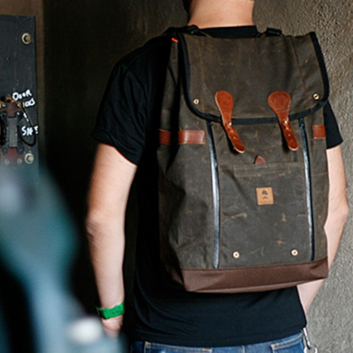 Babylon Backpack Brown 5