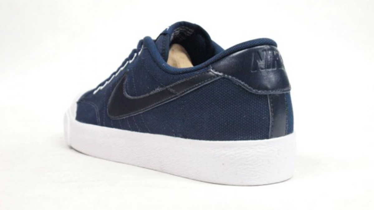 All Court Canvas Navy 2