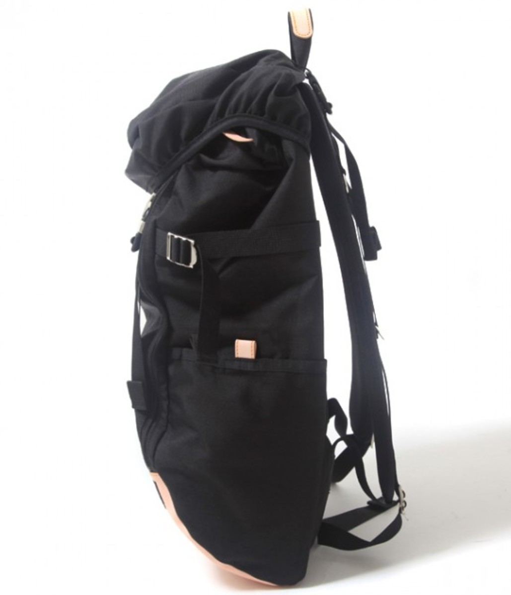 Vegetable Tanned Nylon Ruck Sack 2