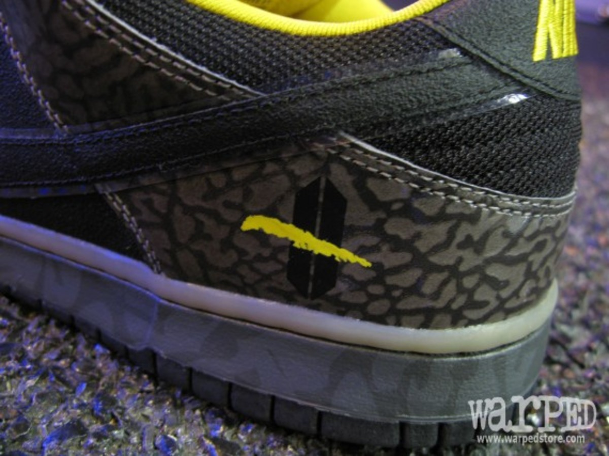 Dunk Low Premium SB Yellow Curb 8