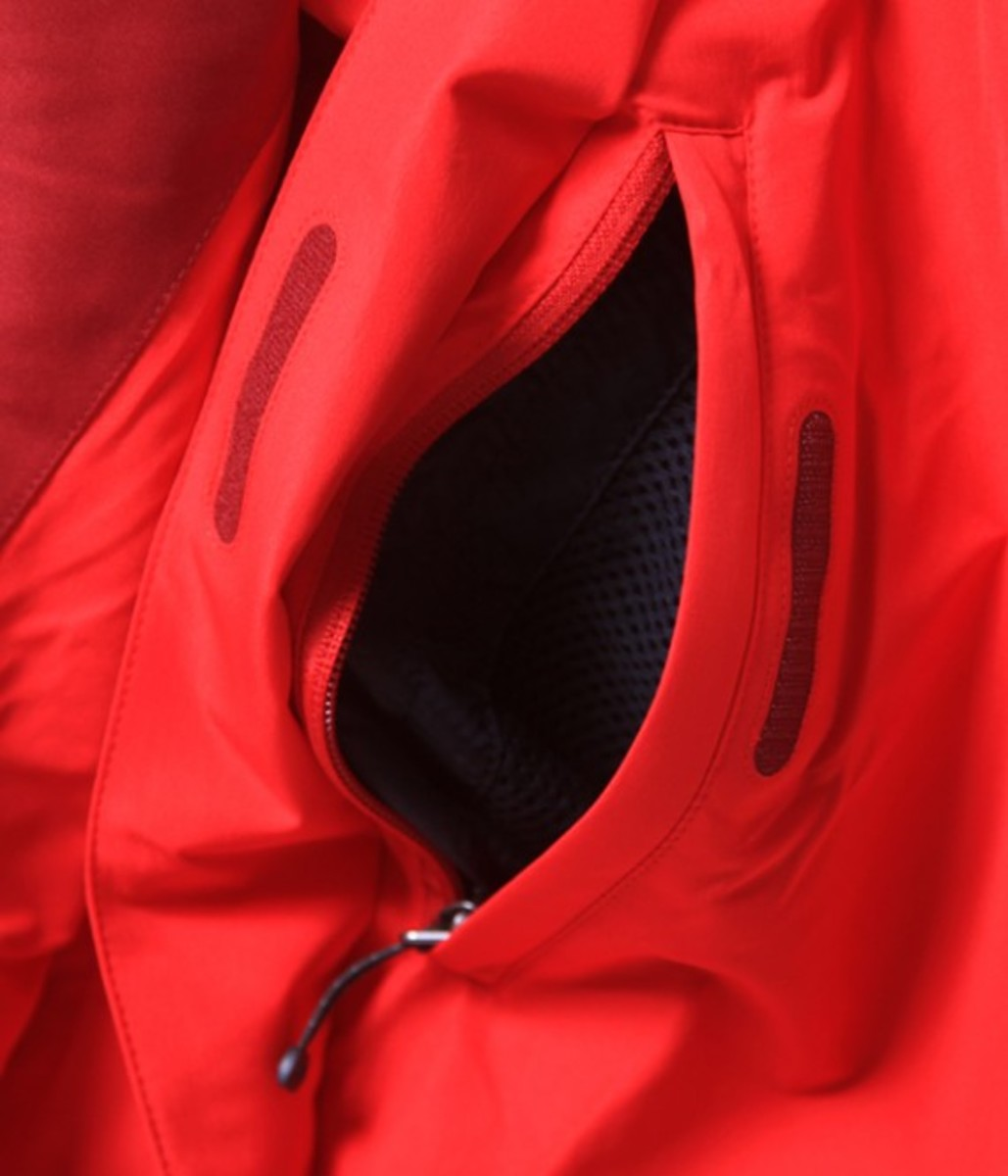 Mountain Jacket Red 7