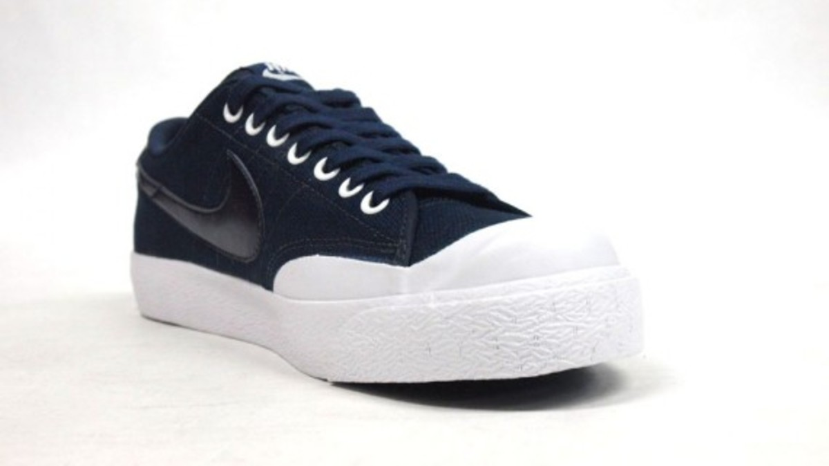 All Court Canvas Navy 5