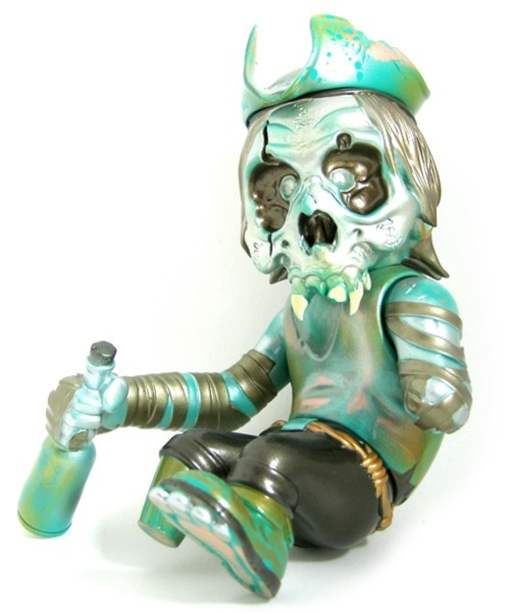 SECRET BASE x Pushead - SEA'EEL FHP Skull Captain - 04