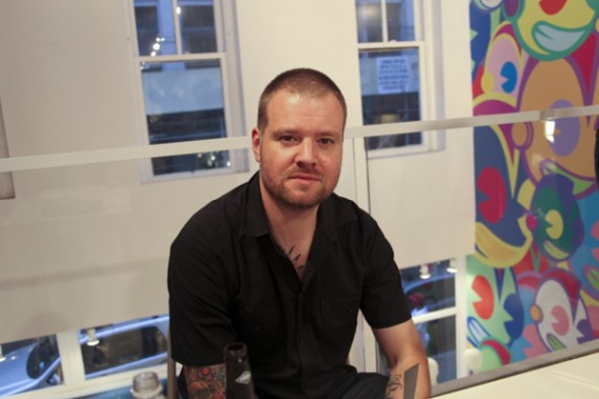 Dave White -  Sgt. Robot Signing Event @ Kidrobot NY - 22