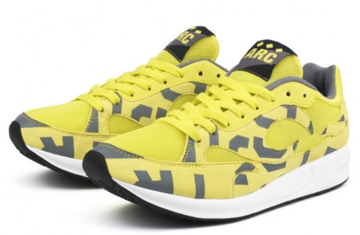 A.R.C. x FILA Fiamma Collection - Yellow Grey