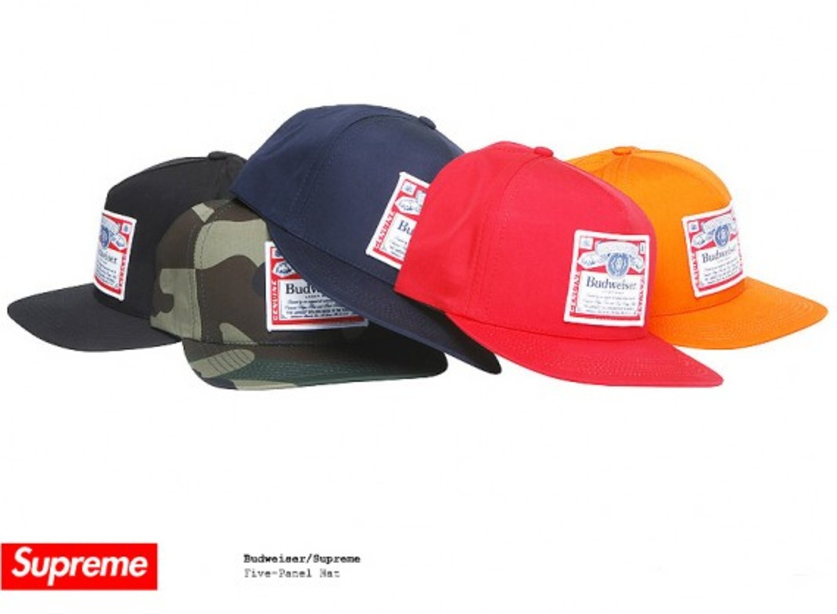 Budweiser x Supreme - Five-Panel Hat