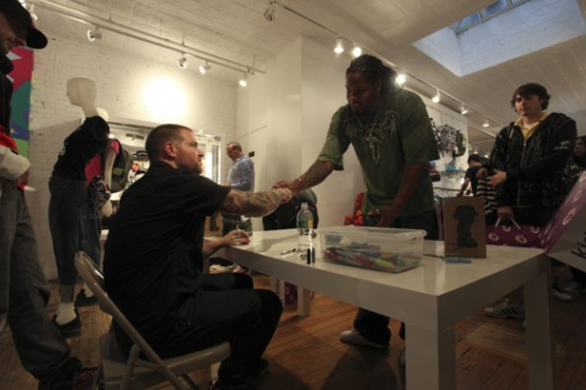 Dave White -  Sgt. Robot Signing Event @ Kidrobot NY - 20