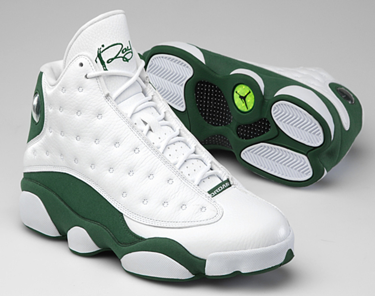 new product d9bb9 32966 ... air-jordan-xiii-ray-allen-player-exclusive-celtic- ...