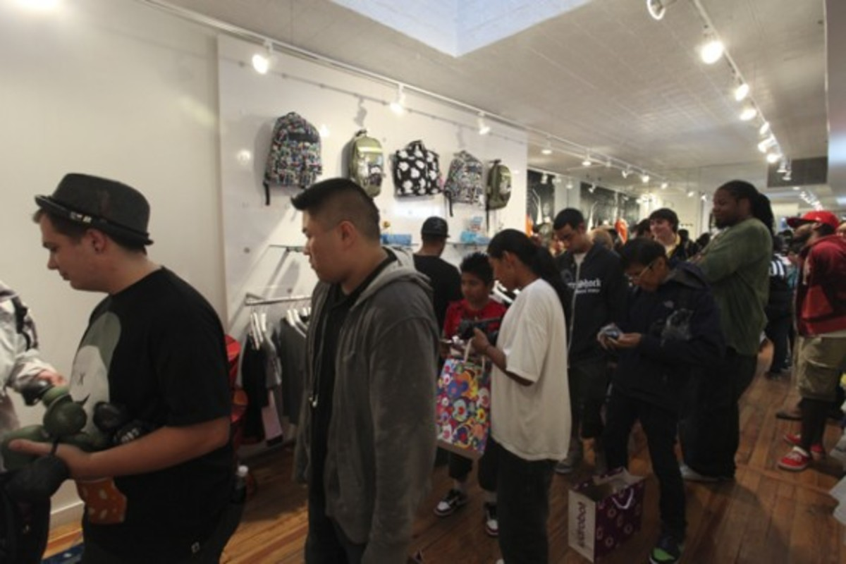 Dave White - Sgt. Robot Signing Event @ Kidrobot NY - 10