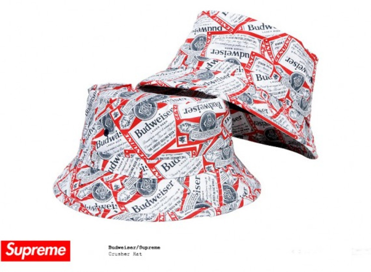 Budweiser x Supreme - Crusher Hat