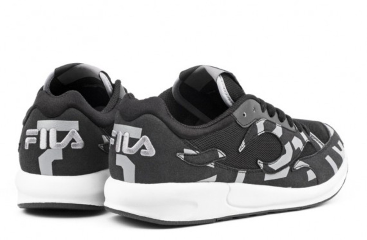 A.R.C. x FILA Fiamma Collection - Black Grey
