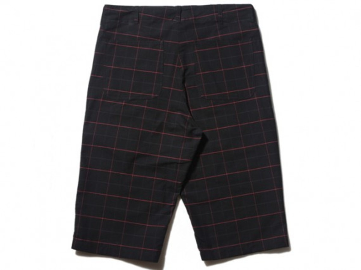Gallery1950 - Side Zip Check Shorts (Back)