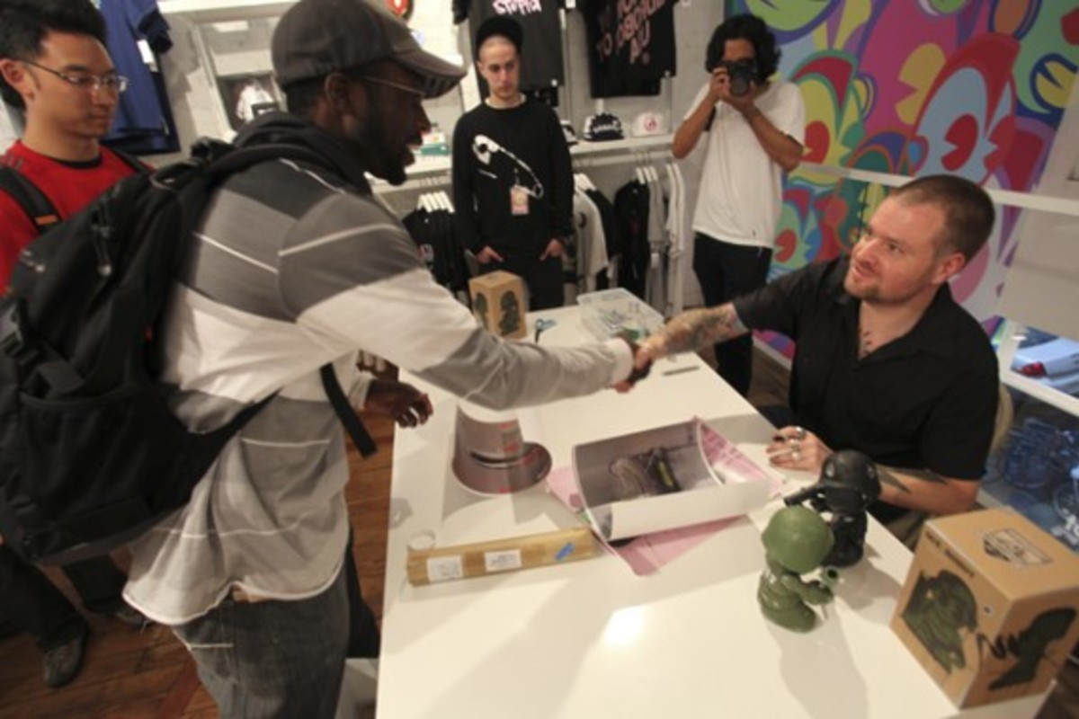 Dave White - Sgt. Robot Signing Event @ Kidrobot NY - 12