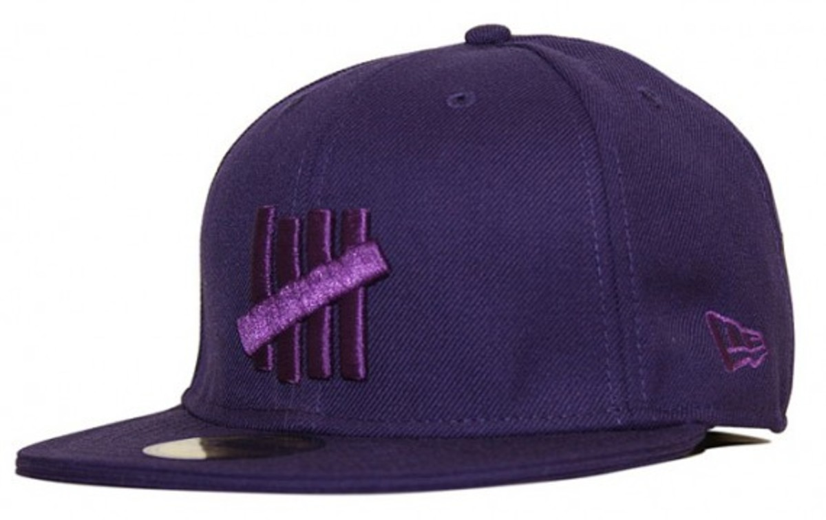 UNDFTD x New Era - UNDFTD Strikes Logo 59FIFTY Cap - Purple