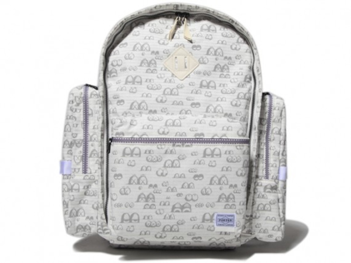 OriginalFake x PORTER - Eyes Pattern Back Pack