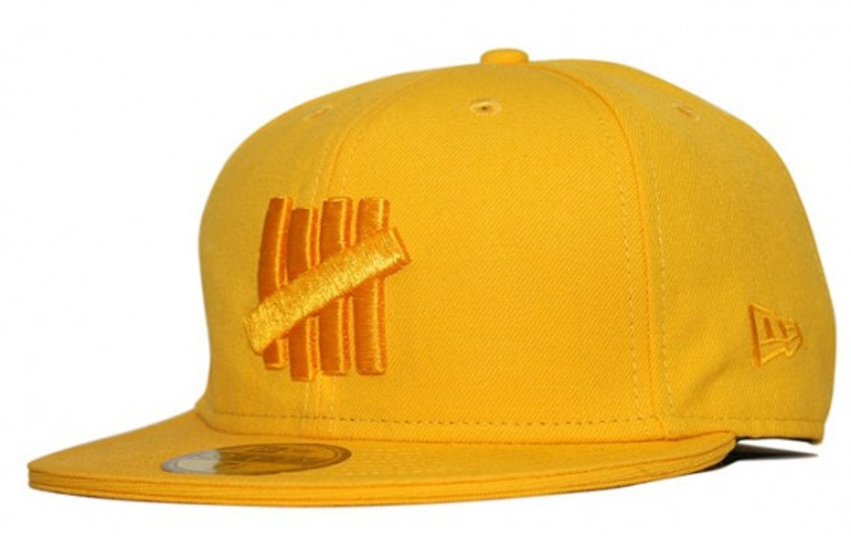 UNDFTD x New Era - UNDFTD Strikes Logo 59FIFTY Cap - Gold
