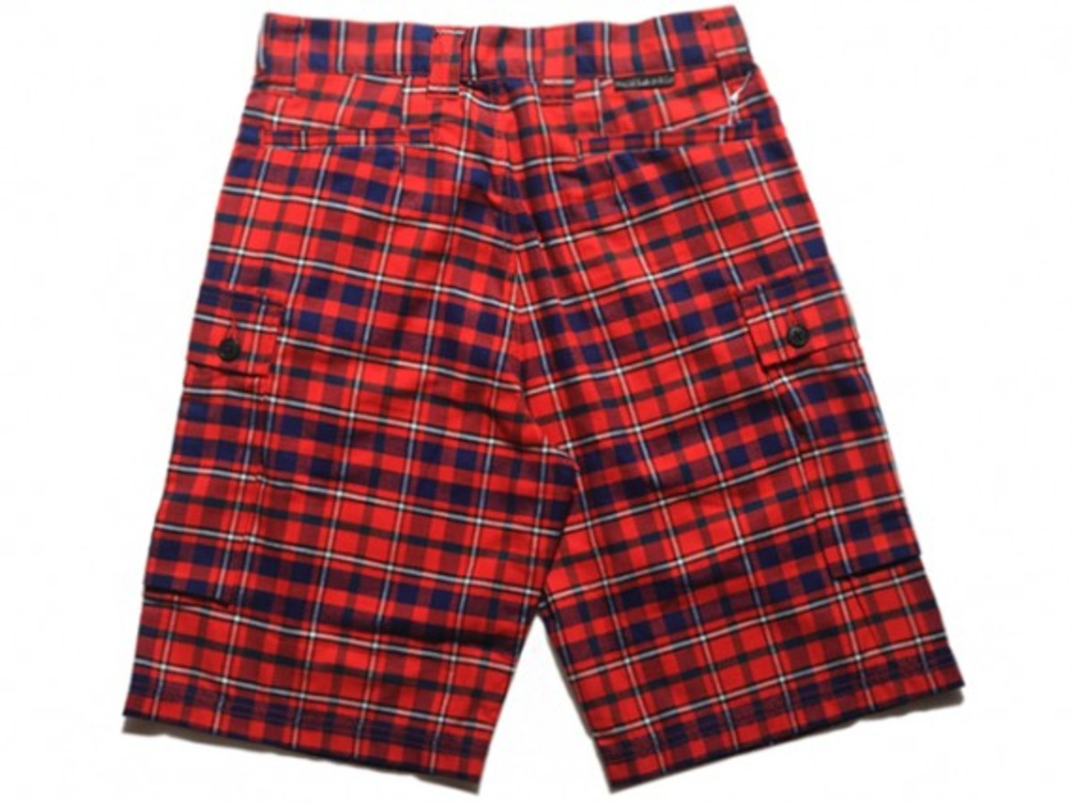 HECTIC - British Plaid Shorts (Back)
