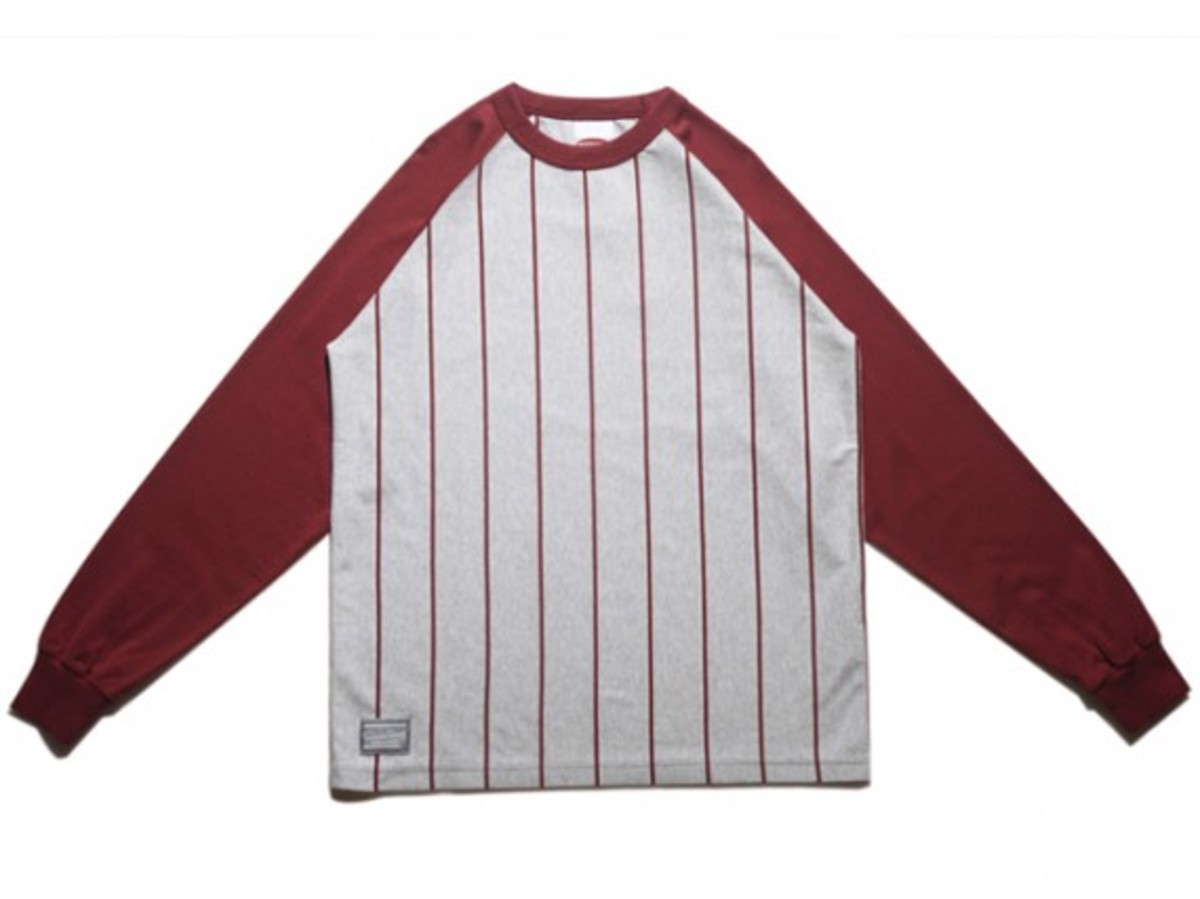 MASTERPIECE - Stripe Raglan T-Shirt