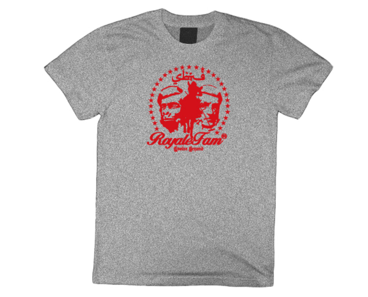 Royalefam - Original Hand Printed College T-Shirt - UNLV (Home)