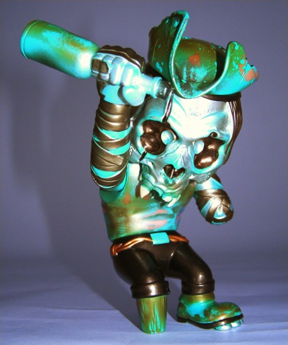 SECRET BASE x Pushead - SEA'EEL FHP Skull Captain - 10