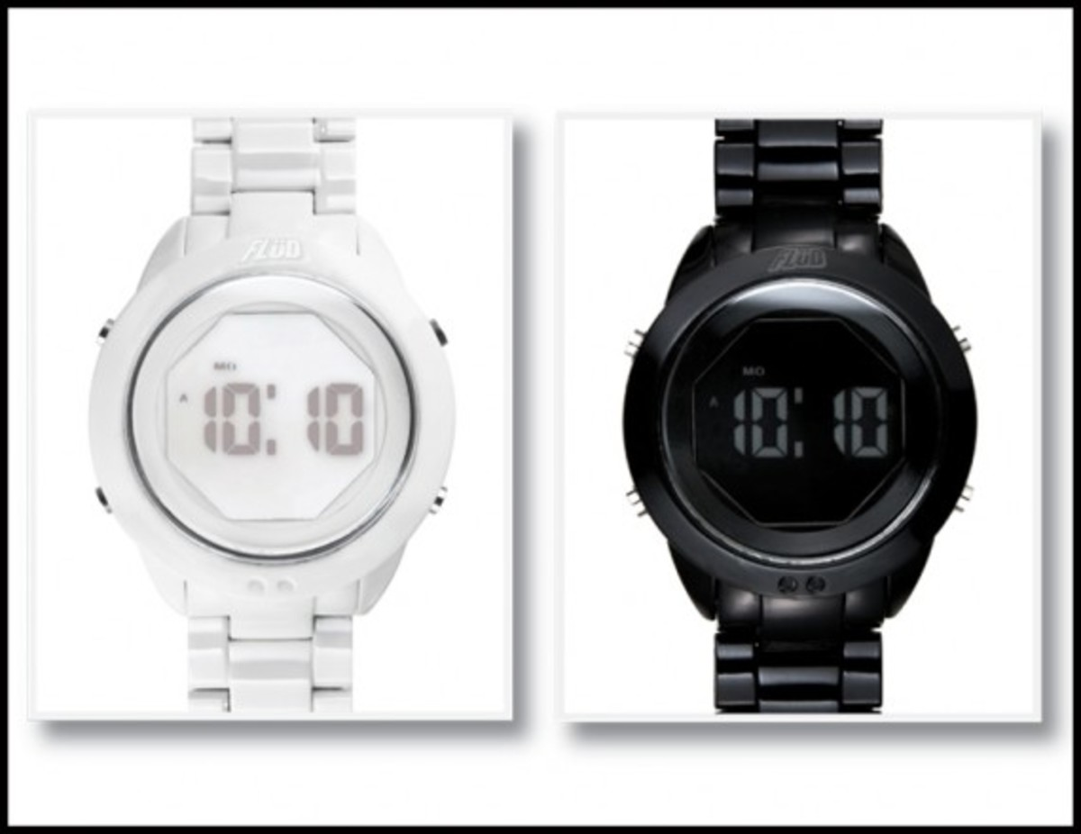 FLuD Watches - Spring/Summer 2009 Collection - Negative Space