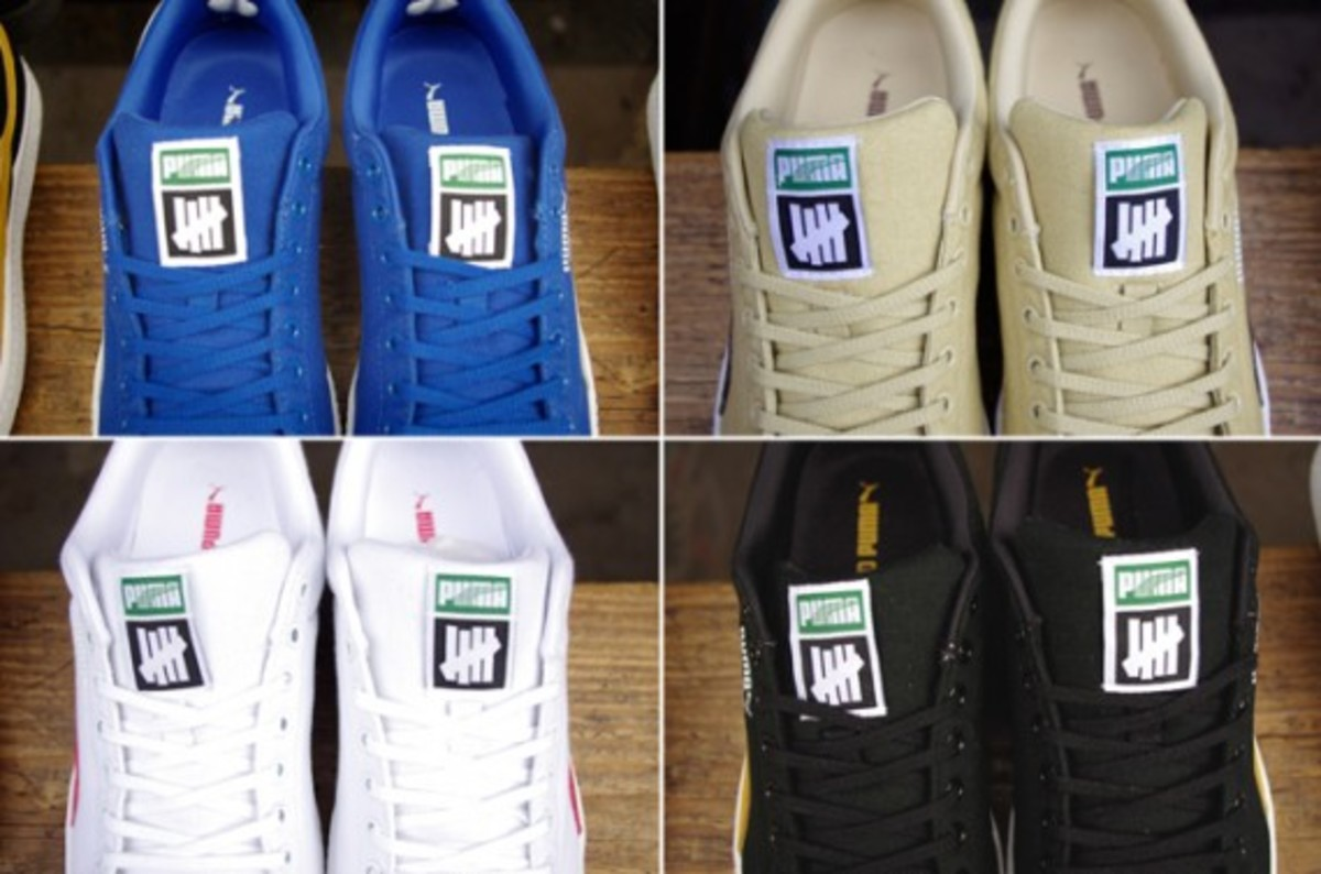Undefeated keeps it moving with their Puma Clyde collabo 5837dafd10
