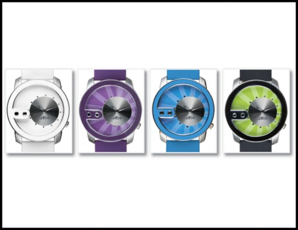 FLuD Watches - Spring/Summer 2009 Collection - The Exchange