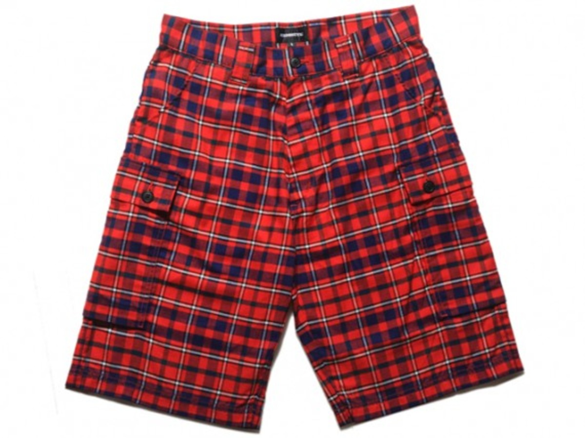 HECTIC - British Plaid Shorts (Front)