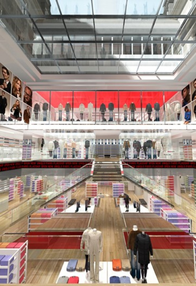 UNIQLO - Paris Flagship Store Rendering