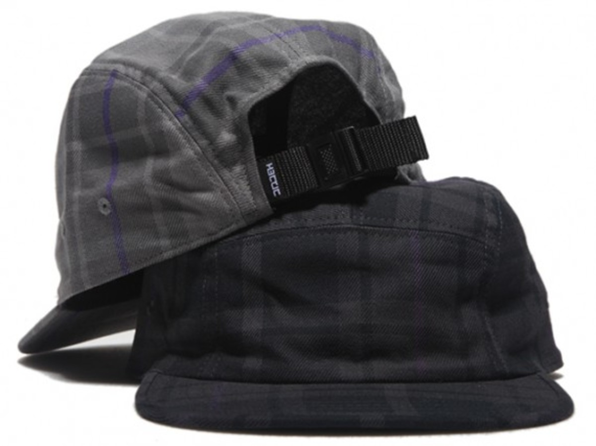 HECTIC - Plaid Check 5-Panel Cap
