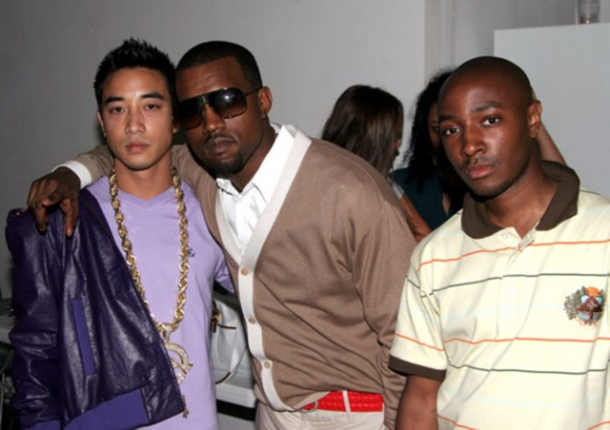 Jonas Bevacqua, Kanye West and Kareem Black