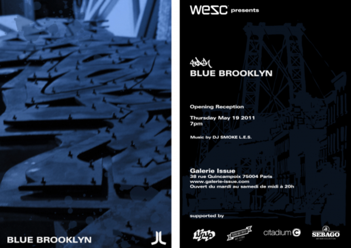 Stash - Blue Brooklyn Exhibition Paris - 1