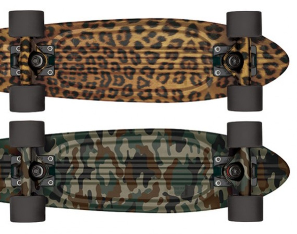 GLOBE - Bantam S.T. Cruiser Skateboards - Jungle Pack - 0