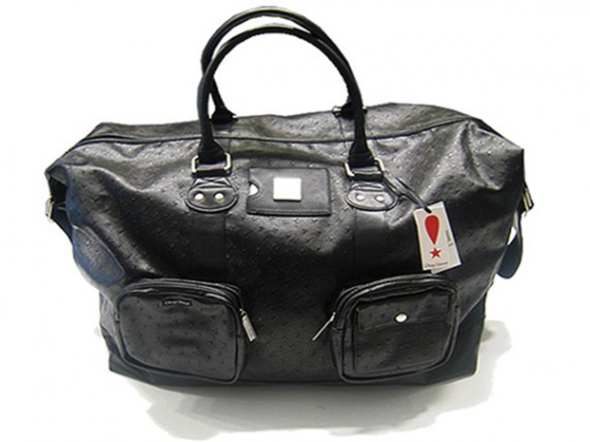 Play Cloths - Leather Accessories - Dirty Duffle Weekend Bag