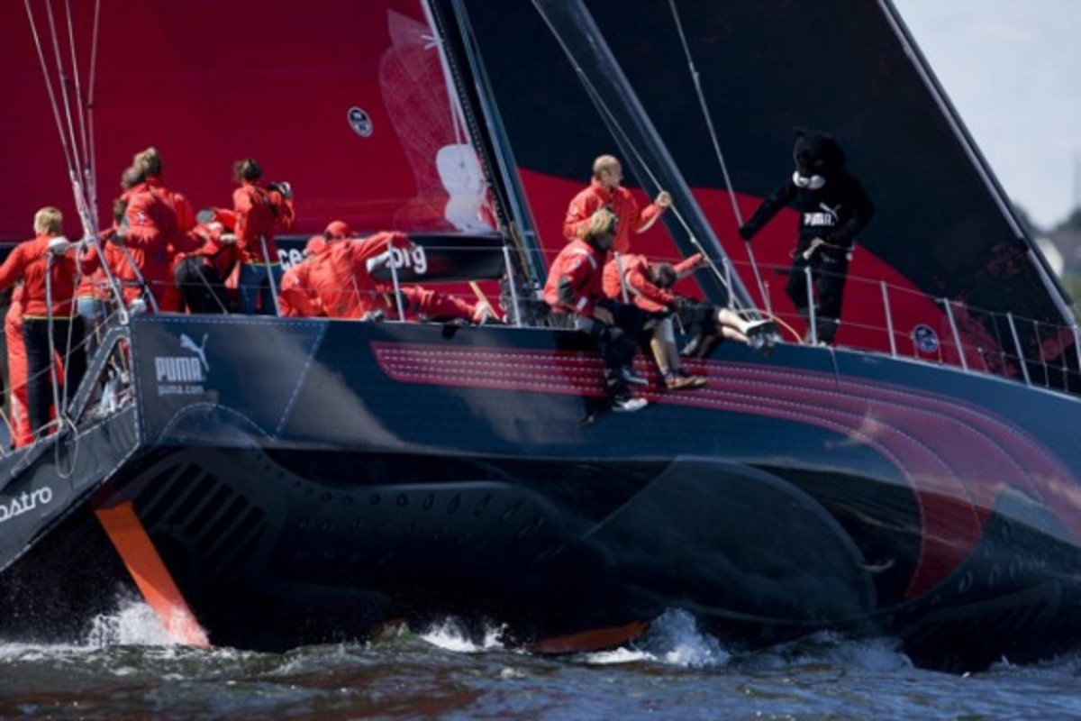 Photo by Sally Collison/PUMA Ocean Racing