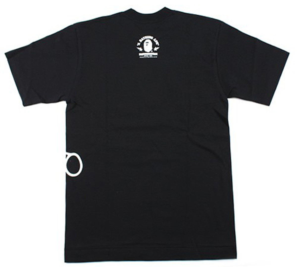 A Bathing Ape (BAPE)  BAPE - Baby Milo Graffiti T-Shirt - Black 02