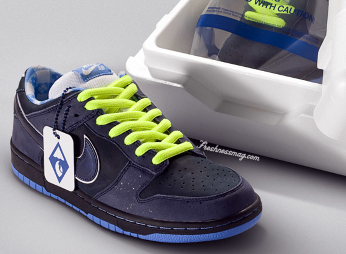 Cap Puerto Terminología  CONCEPTS x Nike SB Blue Lobster Dunk - Packaging - Freshness Mag