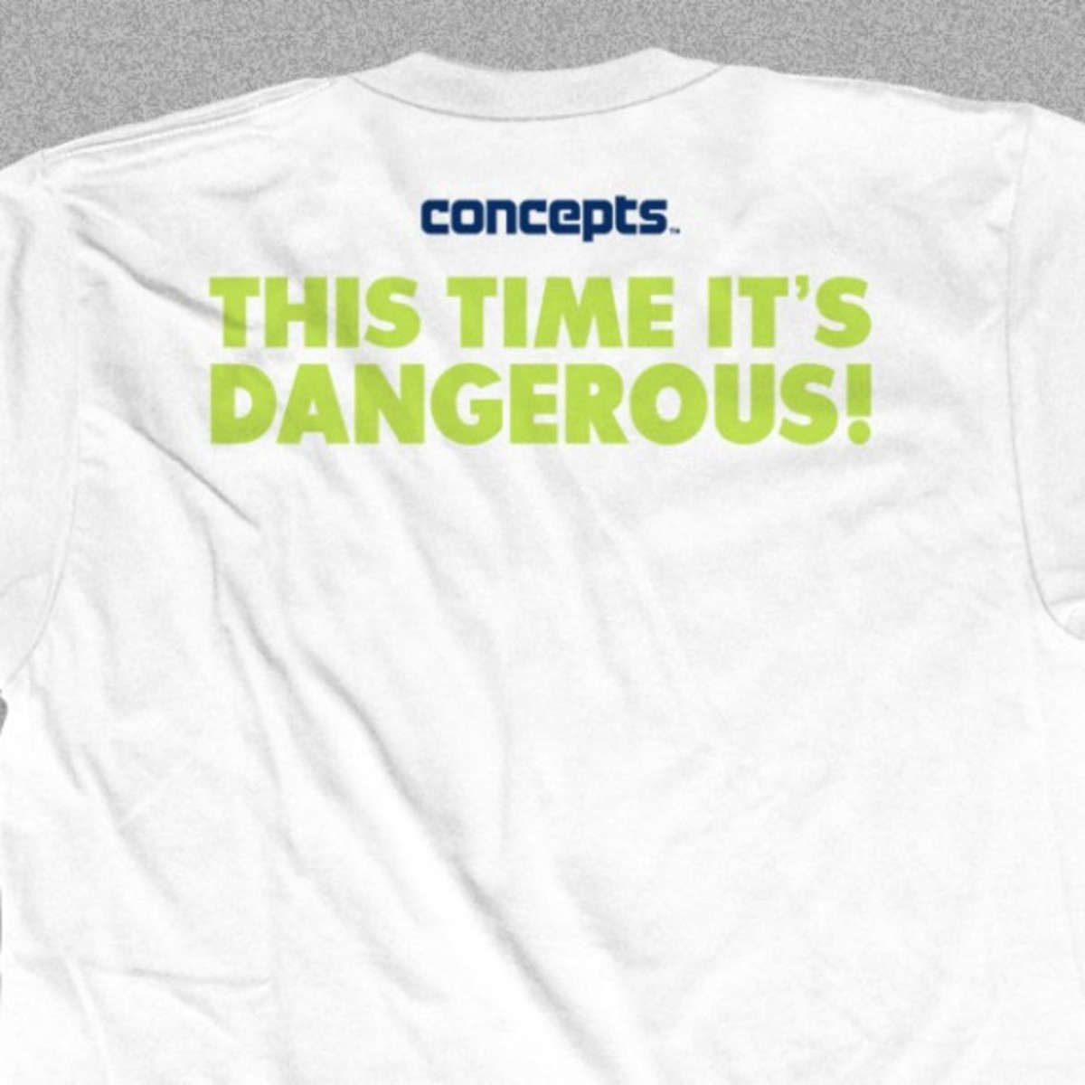 CONCEPTS Boston - Danger Blue Lobster Limited T-Shirt - Back 01