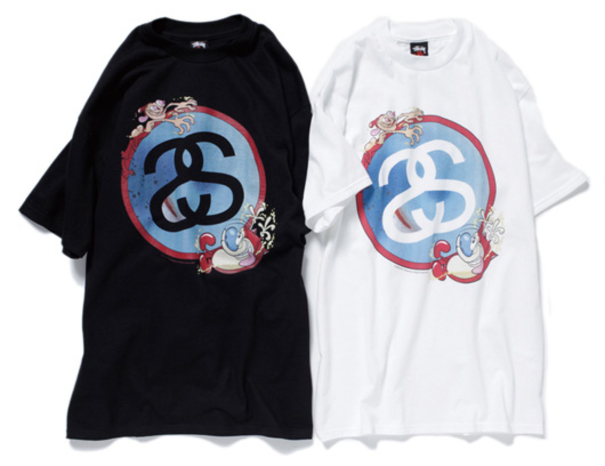 Stussy x Ren & Stimpy - Limited T-Shirt Collection