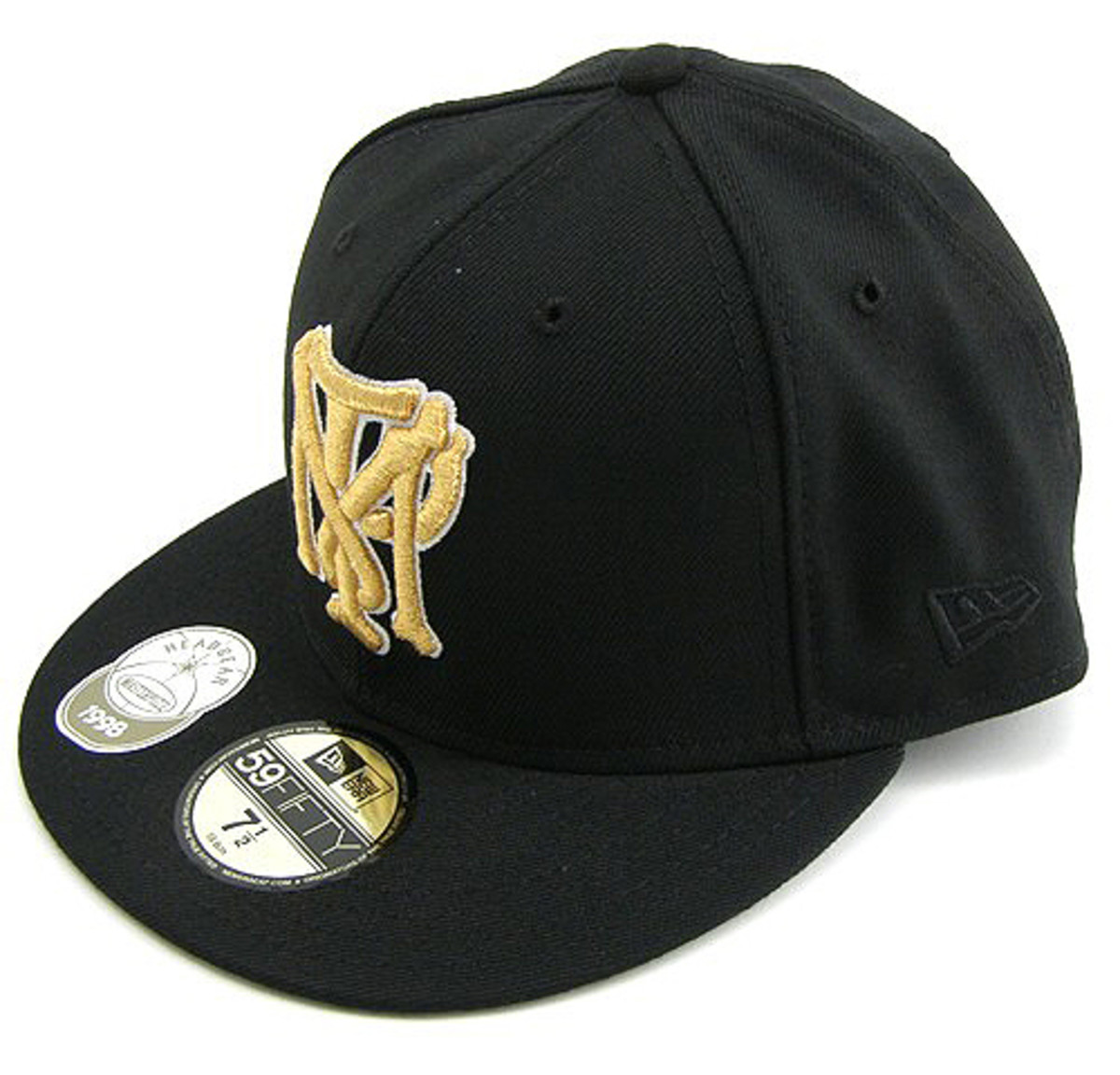 MASTERPIECE x New Era - MTB Bone Initals 59FIFTY Fitted Cap