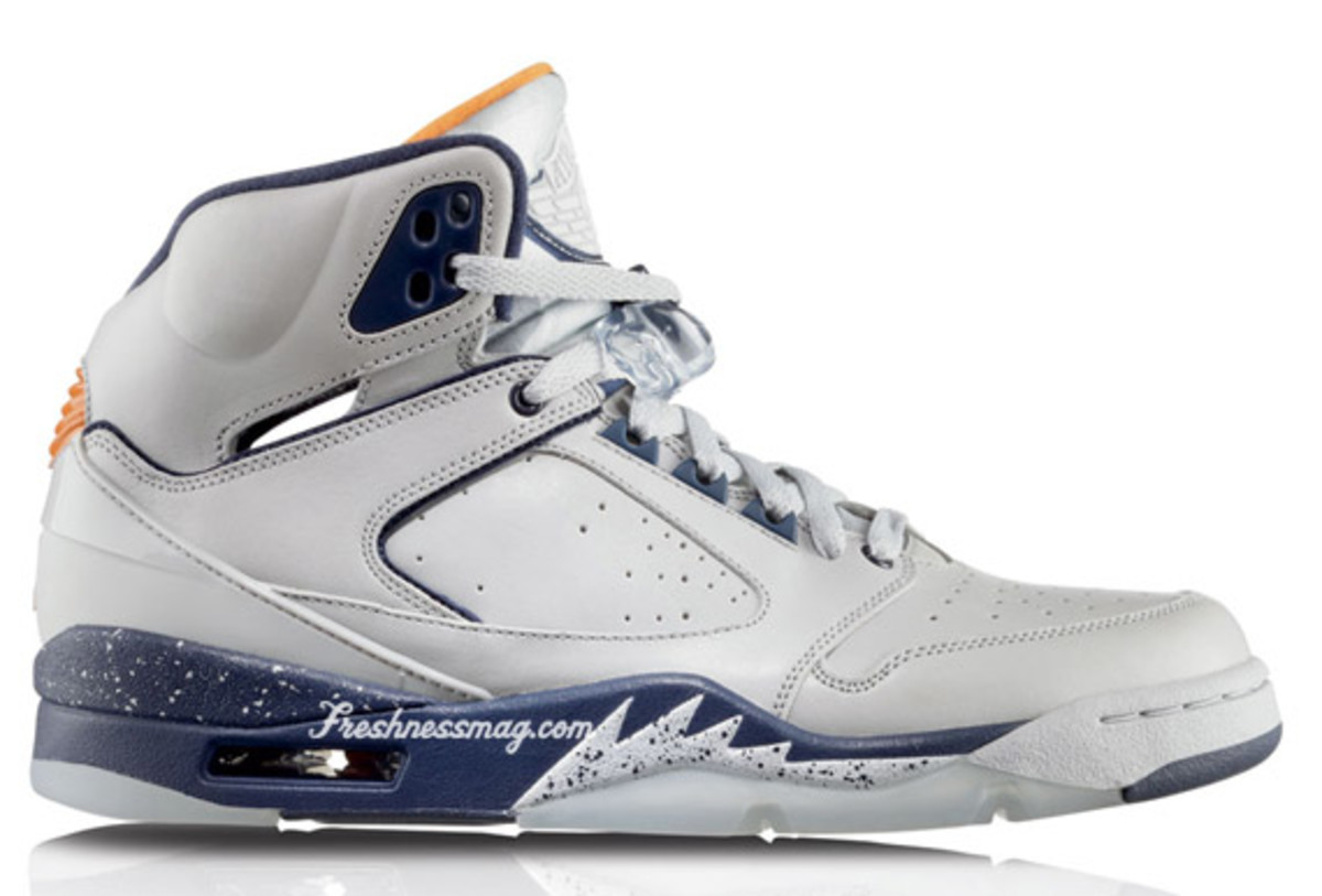 Air Jordan Sixty Plus - Cleveland Cavaliers | Release Date: 11/07/09 | Color: Neutral Grey/Ceramic-Midnight Navy