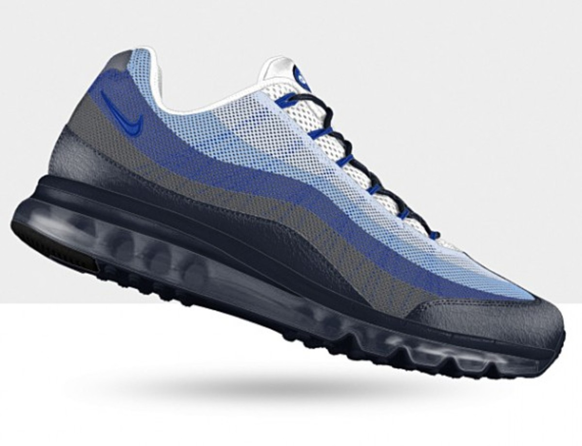 Nike Air Max 95 Dynamic Flywire iD - Spring 2013 NIKEiD Design Options - 2