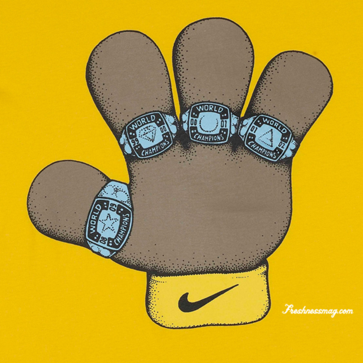 Nike  Kobe Bryant Most Valuable Puppets - 4 Rings Tee China Edition