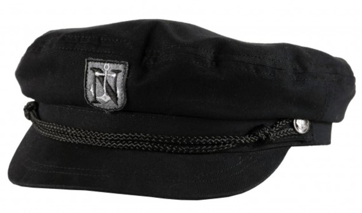Neff x Steve Aoki - Neff DIM MAK Headwear Collection - Sailor Cap (Black)