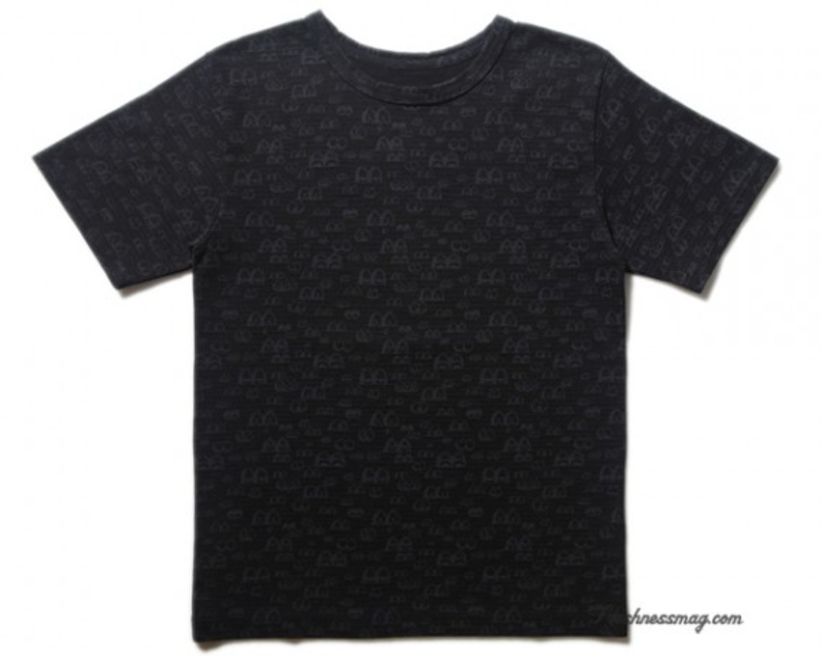 OriginalFake - Eyes Pattern T-Shirt - Black