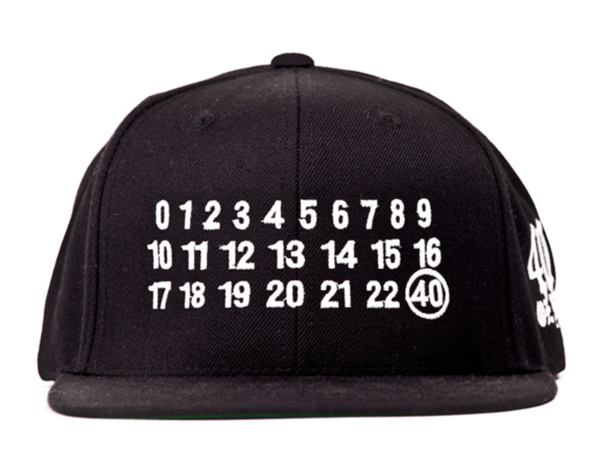 "40oz NYC - Maison Martin Margiela-inspired ""Numbers"" Snapback Caps 