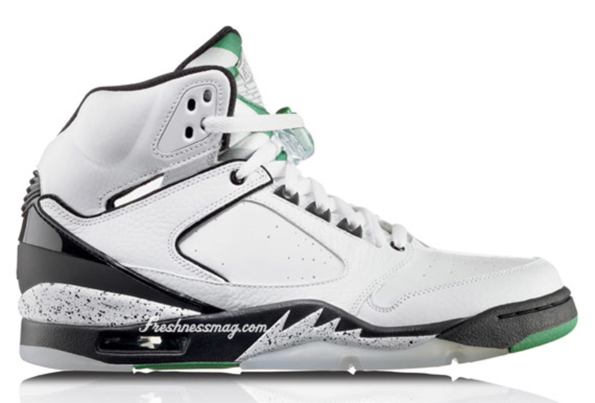 Air Jordan Sixty Plus - Boston Celtics | Release Date: 11/07/09 | Color: White/Classic Green-Black